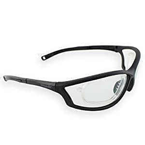 Titus G27 Rx Ready Competition Range Glasses - Sports Riders Safety Glasses (Standard, Standard)
