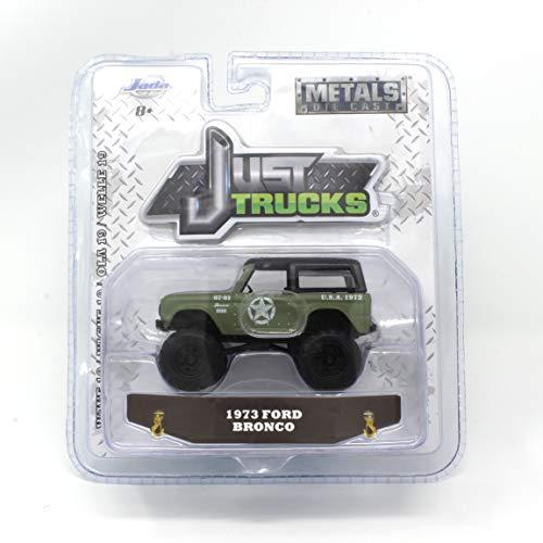 Just Trucks Jada Green Army 1973 Ford Bronco Metals Die Cast Wave 19