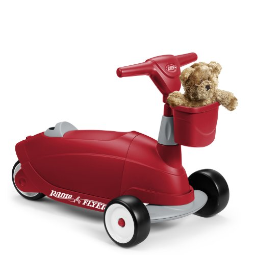 042385110387 - Radio Flyer Ride 2 Glide Ride On carousel main 3