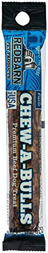 REDBARN Chew-A-Bulls Dog Chew, Beef, Medium, 40 Pack