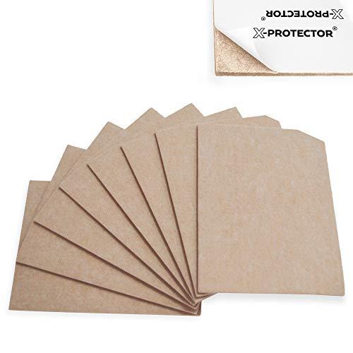 "remium Felt Furniture Pads 8""x6"" Heavy Duty 1/5"" Felt Sheets! Cut Furniture Felt Pads for Furniture Feet You Need – Best Furniture Pads for Hardwood Floors Protection! ()"