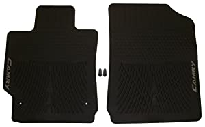 oem toyota 2007 2008 2009 2010 2011 camry all season weather rubber floor mats mat. Black Bedroom Furniture Sets. Home Design Ideas