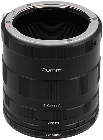 Fotodiox Macro Extension Tube Set Compatible With Nikon Kamera