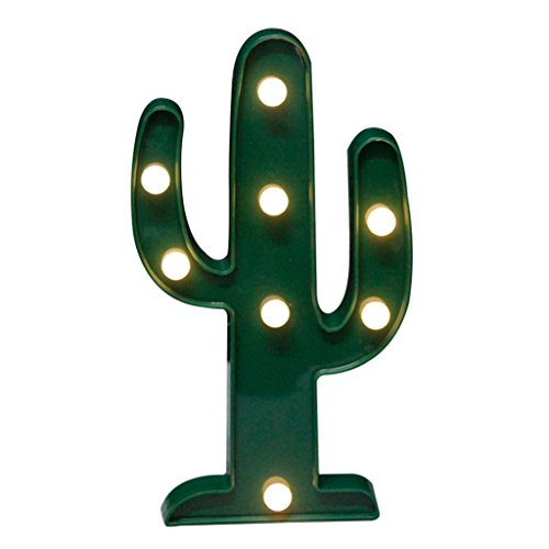 Flamingo Piña Árbol de Navidad LED luz nocturna lámpara de mesa Xmas Party Decor, Cactus