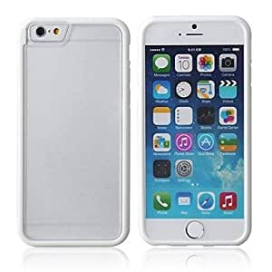 SHOUJIKE Hybrid PC And TPU Hard Case for iPhone 6 (Assorted Color) , White