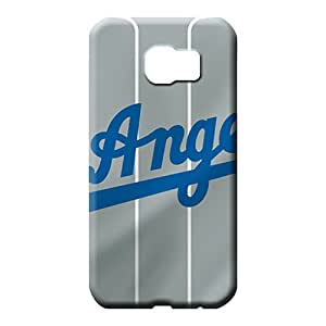 samsung galaxy s6 covers Defender fashion cell phone covers los angeles dodgers mlb baseball