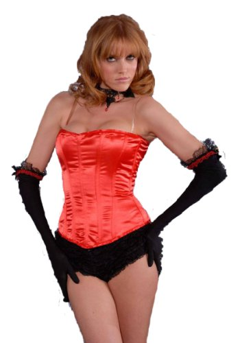 Secret Wishes Trick Or Treat Corset Accessory, Red, One (Gentle Leader Treats)