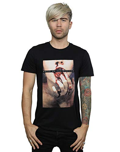 Absolute Cult Bring Me The Horizon Men's Blood Lust T-Shirt Black Large from ABSOLUTECULT
