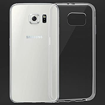 new product e6bf8 3f777 Samsung Galaxy S6 Edge Silicone Gel Case Case - Transparent Clear Soft Gel  TPU Silicone Case Cover for Your Samsung Galaxy S6 Edge - TPU Cover Samsung  ...