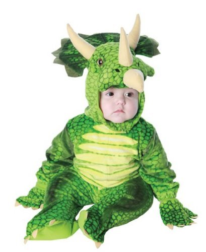 Triceratops Costume - Toddler Costume - Toddler Large (2T-4T) ()
