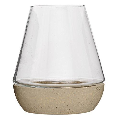UPC 807472874227, Bloomingville Glass Lantern with Sand Base, Medium