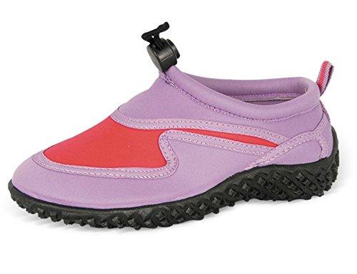Yello Jungen/Mädchen Wasserschuhe, Neopren violett / pink