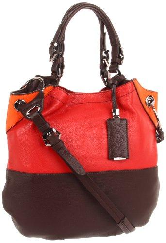 Oryany Handbags GEL402 Shoulder Bag,Red Multi,One Size, Bags Central