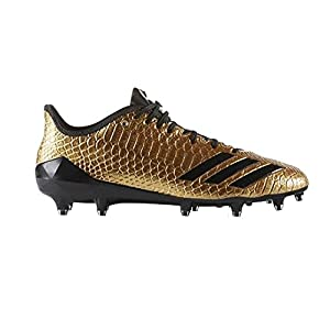 adidas Men's Adizero 5-Star 6.0 Gold Football Cleat Gold/Black Size 12 M US