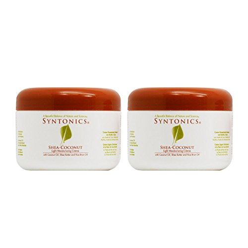 Syntonics Shea-Coconut Light Moisturizing Creme 8oz Pack of 2