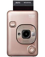 Fujifilm 16631851 Instax Mini Liplay Hybrid Instant Camera/Printer, Blush Gold