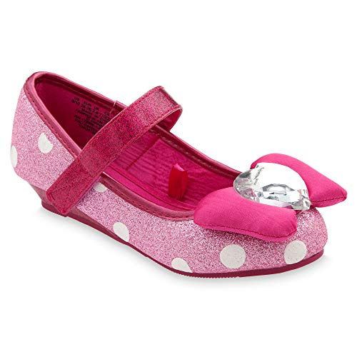 Disney Minnie Mouse Costume Shoes for Kids - Pink Size 7/8 TODLR Pink -