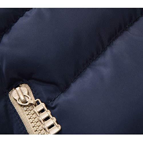 Chaleco Ocasional La Capucha La De Chaleco De Exterior De Hombres Algodón Los con Caliente Casual Otoño Modernas Respirable Naranja Chaleco De De Capa Invierno Moda Odvxv5Han