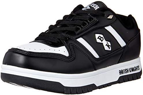 British Knights Mens Kings Sl Low Classic Basketball Sneaker Sneaker