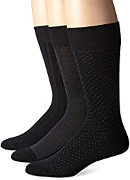 Men's 3 Pack Scattered Dots Crew Sock