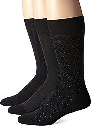 Men's 3 Pack Scattered Dots Crew Sock