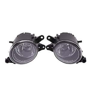 L & R frontal Parachoques Fuhr Niebla parrilla luces lámpara para Audi A4B62–5Marzo 04Sedan