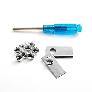 Super Sharp Robotic cortacésped cuchillas t0.5 mm con ...