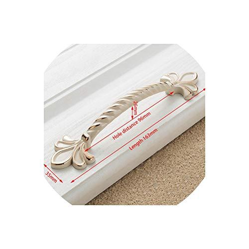 Zinc Ivory White Cabinet Handles Kitchen Cupboard Door Pulls Drawer Knobs European Furniture Handle Hardware,2504-96