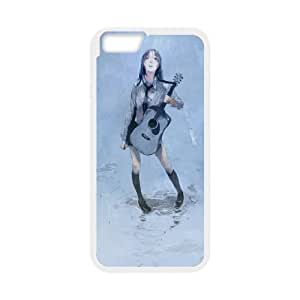 black rain iPhone 6 4.7 Inch Cell Phone Case White Customized Gift pxr006_5298931