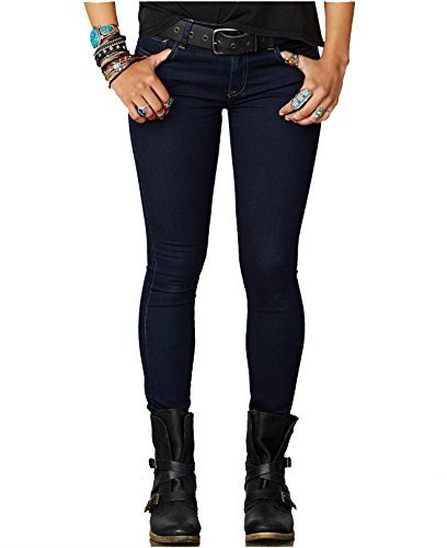 Ralph Lauren Denim & Supply Super-Skinny Jeans (24W x 32L, Kammie Wash)