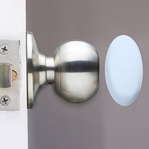 Authentic Outus 4 Pack Door Knob Wall Shield Protector