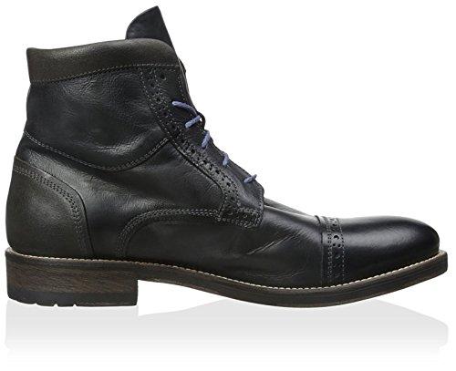 Bacco Bucci Menns Lorenzi Kjole Boot Sort
