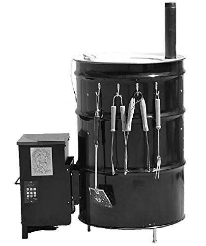 55 gallon drum grill kit - 3