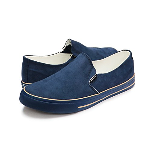 Gambol Mens Slip-on Shoes - Stile Ezy Navy