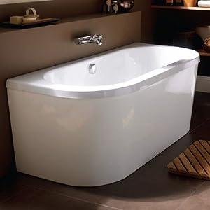 Marvelous Americh International Saturn Freestanding Bathtub   White (66 Inch X 29 Inch  X 24 Inch)