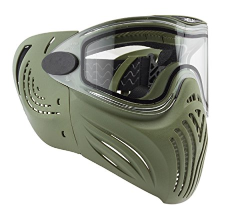 Invert Helix Thermal Paintball Goggles Mask - Olive (Jt Black Thermal Paintball Mask)