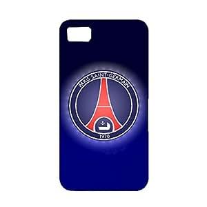 Elegant Paint 3D Paris Saint-Germain Phone Case for Blackberry Z10 PSG Hard Plastic Case