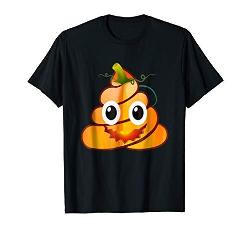 Cute Poop Emoji Pumpkin Funny Halloween Costume Gift