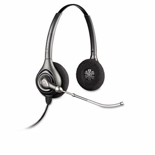 Supraplus Binaural Headset - PLNHW261 - Plantronics SupraPlus Binaural Over-the-Head Wideband Professional Headset