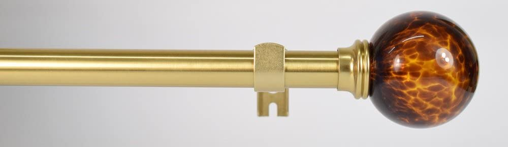 dor/é et nickel diam/ètre 19 mm Tringle /à rideaux Elegance extensible Tortoiseshell Gold 70-122cm Swish