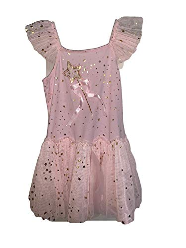 Biscotti Little Girl's (Kids) Dress, Pink with Gold Stars (10)