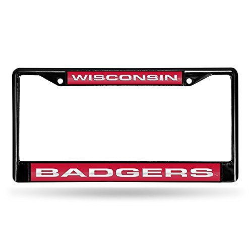- Frame Plate License Wisconsin Badgers