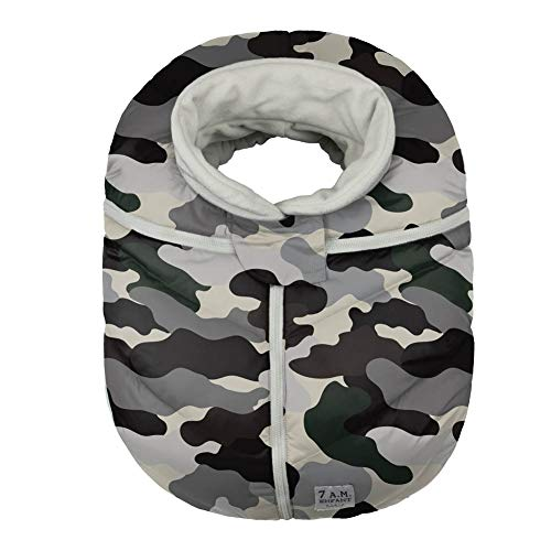 7 A.M. Enfant Car Seat Cocoon, Camo Forest