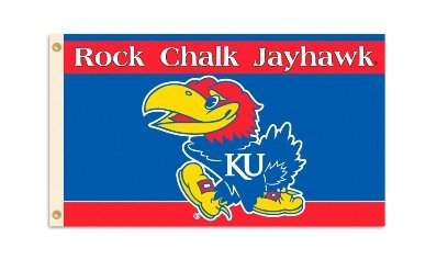 (NCAA Kansas Jayhawks 3-by-5 Foot