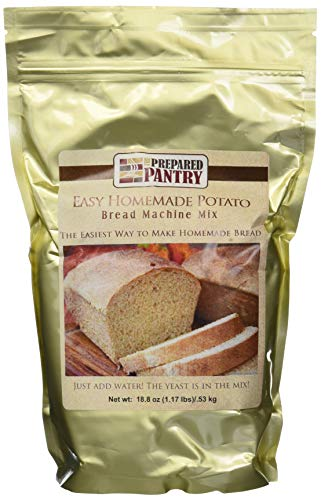 The Prepared Pantry 4-Piece Easy Homemade Potato Bread, 75.24 Ounce ()