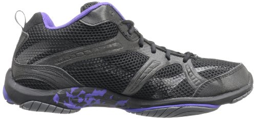 Women's Ryka Dark Purple Grey Enhance Cross Training Shoe Dark 2 Black ZqcOd14qA