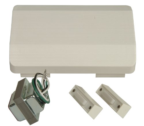 Craftmade Lighting C105L-W Builder Chime - 2 Lighted Button with Chime, Matte White Finish