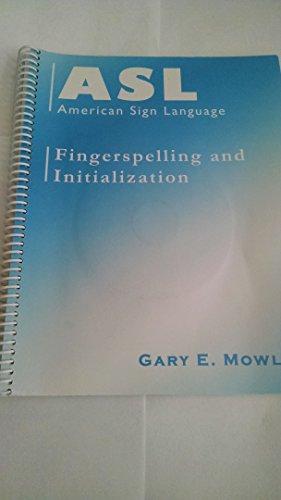 Spiral Bound Asl American Sign Language Fingerspelling Language