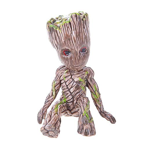 Garden Suncatchers - Movie Guardians Of Galaxy Baby Groot Tree Man Grootted Action Figure Keychain Pendant Car Door - Pendant Car Son Plush Galaxy Burden Keychain Sakaaran Kid - Of Galaxy Garden The Movie