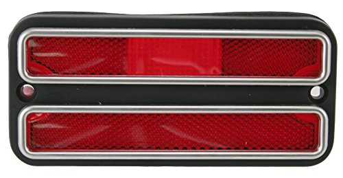 1975 Chevy Truck Parts (Red Side Marker Light Corner Turn Signal for 68-72 Chevy Pickup Truck)